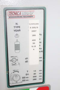 TECNICA S 300 SUPER Sliding Table saw Machine i_02399116