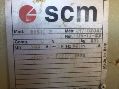 Plaqueuse de chants SCM BASIC 2 i_02939659
