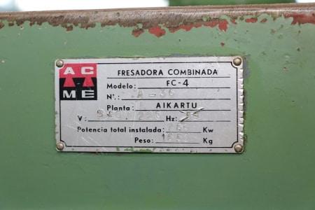 Fresadora de ciclos automáticos AIKARTU FC-4 i_03011964