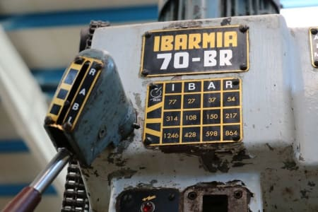 IBARMIA 70-BR Column drilling machine i_03012229