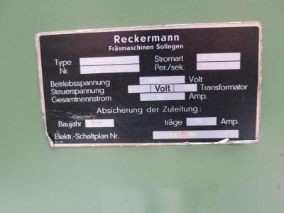 RECKERMANN Kombi 1000 Tool milling machine i_03215370