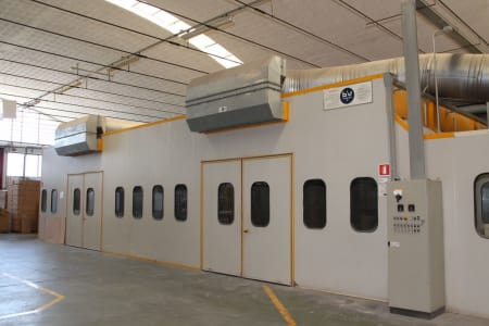 BIV TECHNOLOGY Pressurized Painting Booth i_03216775