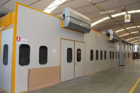 BIV TECHNOLOGY Pressurized Painting Booth i_03216776