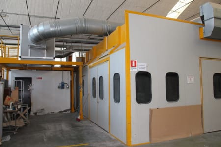 BIV TECHNOLOGY Pressurized Painting Booth i_03216777