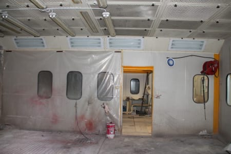 BIV TECHNOLOGY Pressurized Painting Booth i_03216783