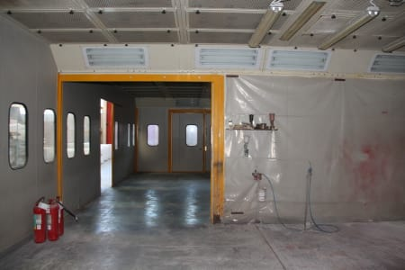 BIV TECHNOLOGY Pressurized Painting Booth i_03216786