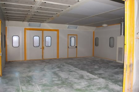 BIV TECHNOLOGY Pressurized Painting Booth i_03216789