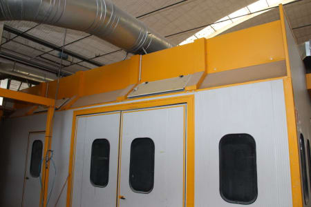 BIV TECHNOLOGY Pressurized Painting Booth i_03216825