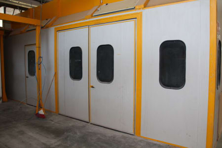BIV TECHNOLOGY Pressurized Painting Booth i_03216826