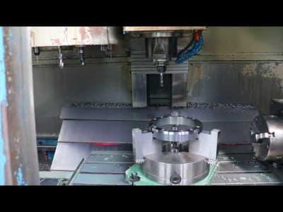 Centro mecanizado vertical CNC 4 ejes KONDIA B-1050 v_03147909