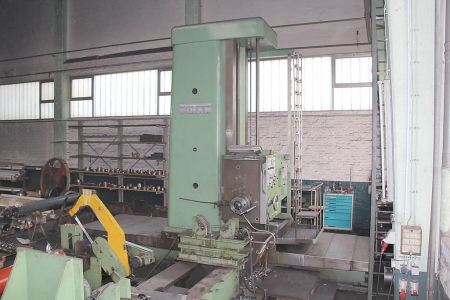 WOTAN B 160 P Rezkalno vrtalni stroj with rotary table i_00360727