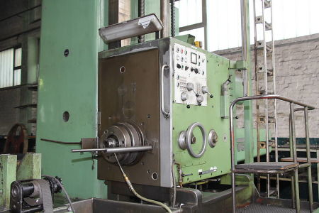 WOTAN B 160 P Rezkalno vrtalni stroj with rotary table i_00360730