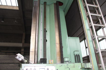 WOTAN B 160 P Postrojenje za bušenje i glodanje s pomičnim stupom with rotary table i_00360735