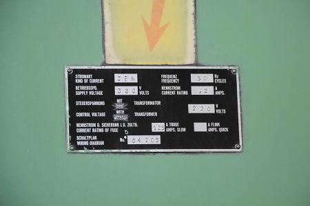 WOTAN B 160 P Пробивно-фрезова машина от подов тип with rotary table i_00360744