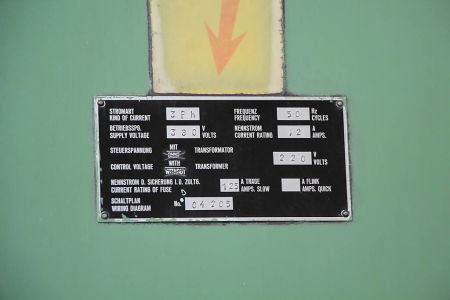WOTAN B 160 P Plattenbohrwerk mit Drehtisch i_00360744