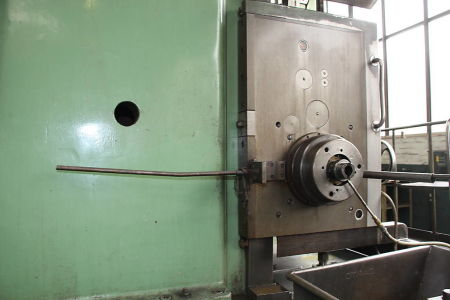 WOTAN B 160 P Floor Type Boring Mill with rotary table i_00360746