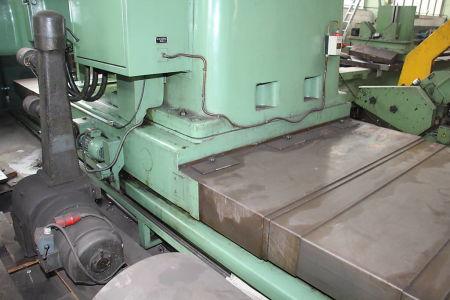 WOTAN B 160 P Пробивно-фрезова машина от подов тип with rotary table i_00360750