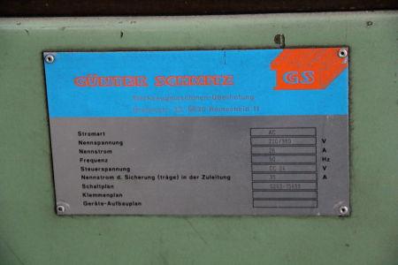 WOTAN B 160 P Пробивно-фрезова машина от подов тип with rotary table i_00361257
