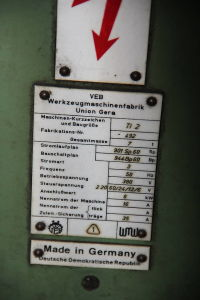 WOTAN B 160 P Platňová vodorovná vyvrtávačka with rotary table i_00361258