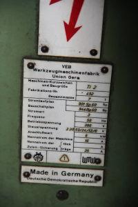 WOTAN B 160 P Postrojenje za bušenje i glodanje s pomičnim stupom with rotary table i_00361258