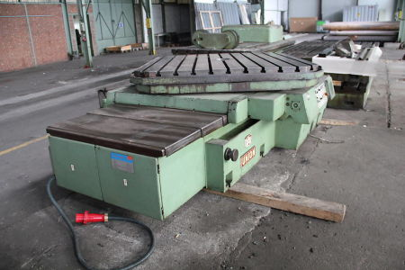 WOTAN B 160 P Rezkalno vrtalni stroj with rotary table i_00361260