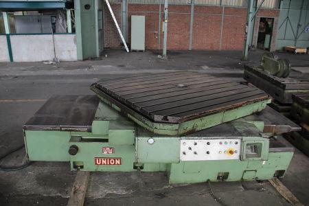 WOTAN B 160 P Postrojenje za bušenje i glodanje s pomičnim stupom with rotary table i_00361261