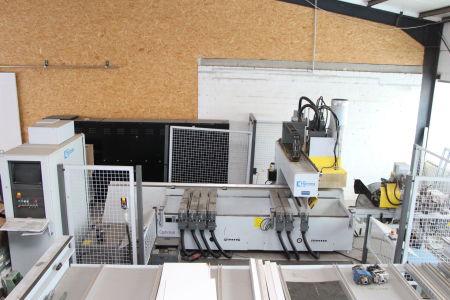 Centro de mecanizado CNC HOMAG BAZ 41/K Optimat with Edge Banding i_02240073