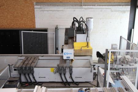 Centro de mecanizado CNC HOMAG BAZ 41/K Optimat with Edge Banding i_02240074