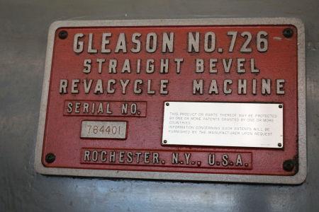 GLEASON 726 Kegelstirnrad-Verzahnungsmaschine i_02682276