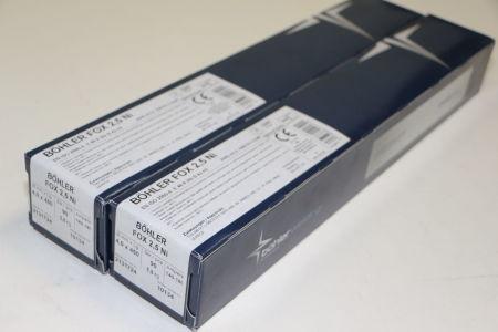 BÖHLER FOX 2,5NI 4,0 x 450 Rod Electrodes 180 pcs. i_02720253