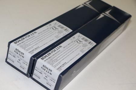 BÖHLER FOX 2,5NI 4,0 X 450 Rod Electrodes 180 pcs. i_02720261