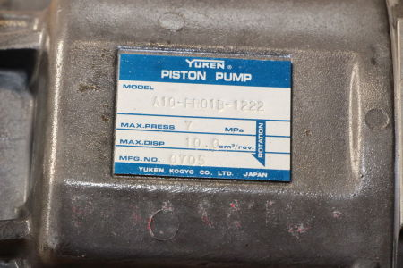 YUKEN A10-FR01B-1222 Engine Pump i_02741750