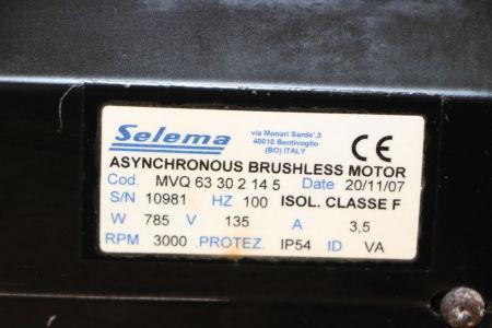 SELEMA MVQS3302145 Brushless Induction Motor i_02745182
