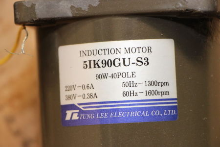 TUNG LEE 5RK90GU-S3M Induction motor i_02745299