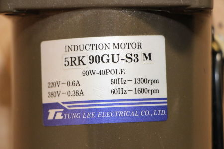 TUNG LEE 5RK90GU-S3M Induction motor i_02745301