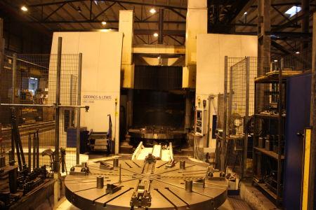 GIDDINGS & LEWIS VTC 2500 CNC-Vertikal Dreh und Fräszentrum i_02755873