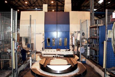 GIDDINGS & LEWIS VTC 2500 CNC-Vertikal Dreh und Fräszentrum i_02914362