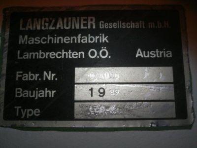 LANGZAUNER LZK-K Keskeny szalagú csiszológép i_02915816