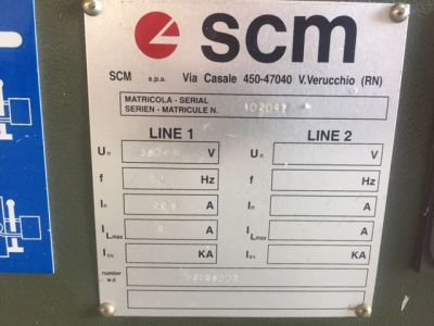 Kenar Bantlama Makinesi SCM BASIC 2 i_02939664