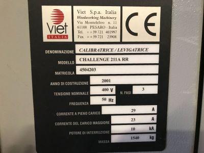 Machine de calibration VIET CHALLENGE 211 A RR i_02976417
