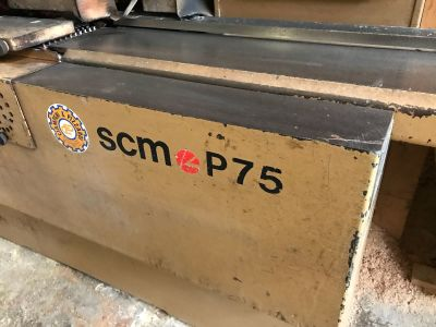SCM P75 Combined Surface and Thickness Gyalugép i_02976448