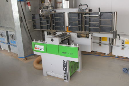 FELDER AD 741 Surface and thickness planer i_03031776