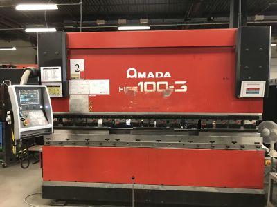 프레스 브레이크 AMADA HFE100 CNC i_03035875