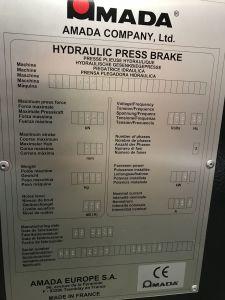 프레스 브레이크 AMADA HFE100 CNC i_03035876