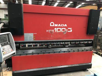 프레스 브레이크 AMADA HFE100 CNC i_03035878