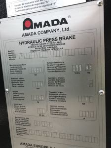 Prasa krawędziowa AMADA HFE100 CNC i_03035886