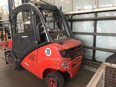 LINDE H 35 T –BR 393 LPG Forklift i_03085291