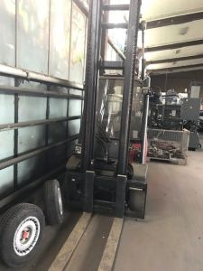 Carrello elevatore a gas LINDE H 35 T –BR 393 i_03085292
