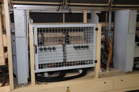 HOMAG / WEMHÖNER / MAW NOTTMEYER POWER KF 20 / SPN-1 Doppelseitige Kantenanleimmaschine i_03093457
