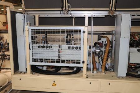 HOMAG / WEMHÖNER / MAW NOTTMEYER POWER KF 20 / SPN-1 Doppelseitige Kantenanleimmaschine i_03093458
